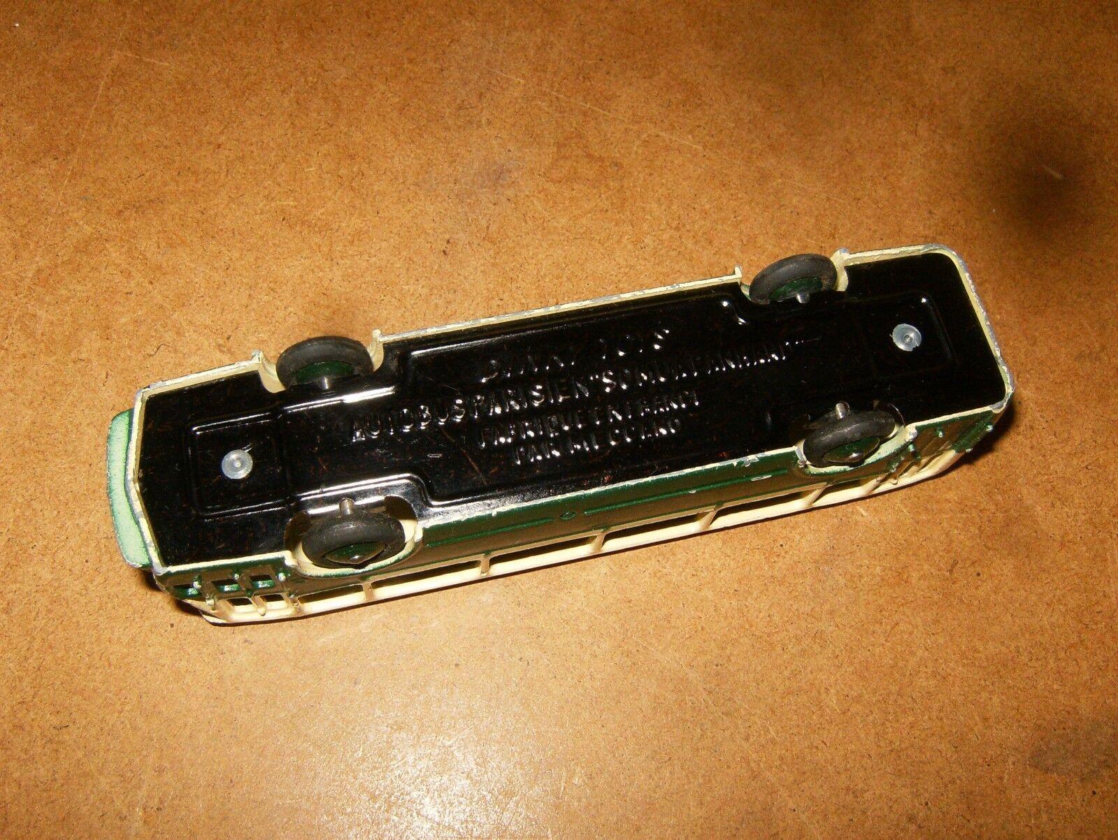 Ancienne DINKY TOYS France 1 43 (N° (N° (N° 29 D ) AUTOBUS PARISIEN SOMUA PANHARD - 50's c8c8fb