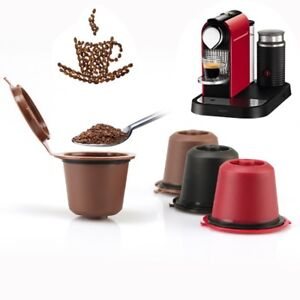2Pcs-Reusable-Nespresso-Coffee-Capsules-Filters-Refillable-Stainless-Steel-K-Cup