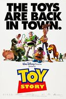 Toy Story (1995) Original Movie Poster -the Boys Are Back In Town Style 2-sided