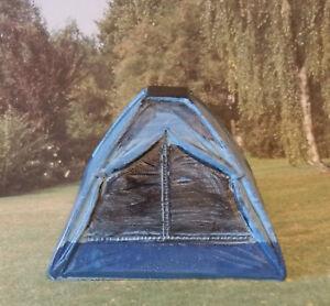 Mini Zelt Miniatur Gutschein Basteln Geldgeschenk Urlaub Schulanfang