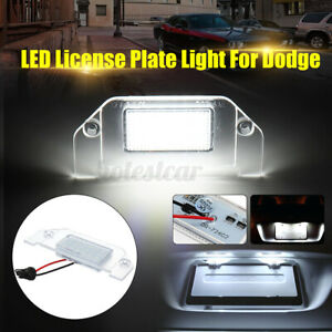LED-Side-Number-License-Plate-Light-For-Dodge-Challenger-Charger-Avenger
