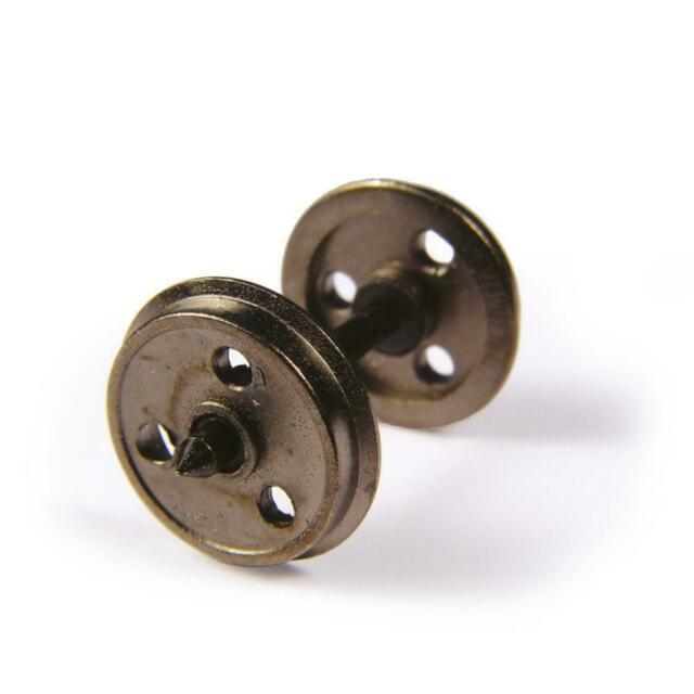 Bachmann 36-015 OO Gauge Metal 3-Hole Wagon Wheels (Pack 10)