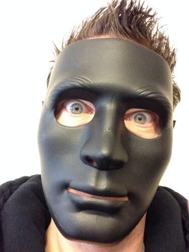 Black Mime Robot Mask The Purge Dance Crew Halloween Hockey Hip Hop Jabba Masks