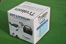 TROLEM KIT Batterie Lithium 20AH CHARIOT DE GOLF 12V AVEC CHARGEUR