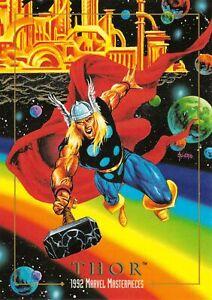 THOR-1992-Marvel-Masterpieces-BASE-Trading-Card-92-Art-by-JOE-JUSKO