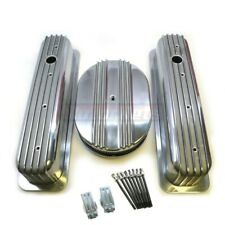 87 Up Small Block Chevy 12 Air Cleaner Dress Up Kit Centerbolt Tall Valve Cover