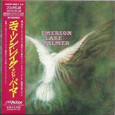 EMERSON LAKE & PALMER - EMERSON LAKE & PALMER 2002 20bit K2 JAPAN MINI LP CD