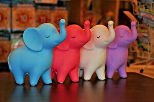 Keramik-Spardose-Elefant-blau-lila-rosa-oder-weiss-Kinder-Baby-Sparschwein-18cm