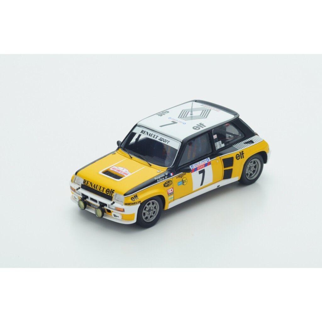 1 43 Renault 5 Turbo ganador de France Tour de Corse Rally 1982 J. RAGNOTTI