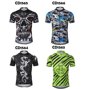Pro Team Cycling Sports Wear Jerseys Men/'s Clothing Mountain Bike T-Shirts Top