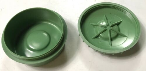 WWII GERMAN SALT SHAKER-GREEN BAKELITE