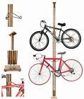Wooden Bike Rack Freestanding Bicycle Stand Cycle Storage Hanger Indoor Holder