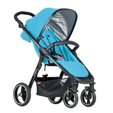 Phil&Teds 2016 Smart 3 Stroller in Cyan Brand New!!