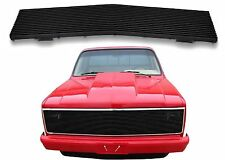 Phantom Black Stainless Billet Grill Insert For 1981-1987 Chevrolet/GMC Trucks