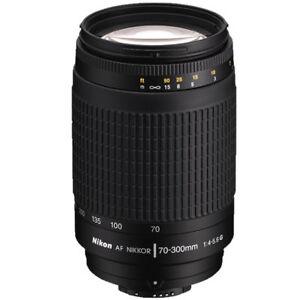 Nikon-AF-Zoom-Nikkor-70-300mm-f-4-5-6-G-Objektiv-fuer-d7100-d7500-d1x-d2xs-d3s-d800