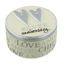 25th Wedding Anniversary  Resin Trinket Box WJ10625