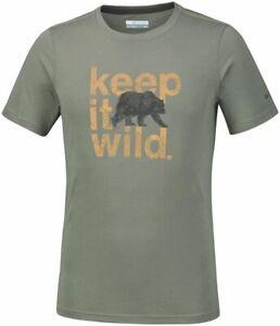 COLUMBIA Miller Valley Running Training T-Shirt Short Sleeve Tee Mens All Size