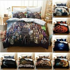 Game Of Thrones Duvet Cover Set Daenerys Targaryen Dragon Bedding Set Quilt Gift