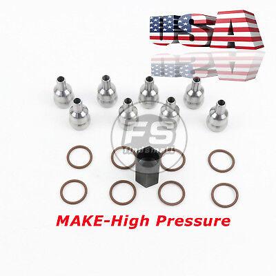 6.0L 2003-10 Ford High Pressure Oil Rail Ball Tube Repair kit WITH TOOL /& ORINGS