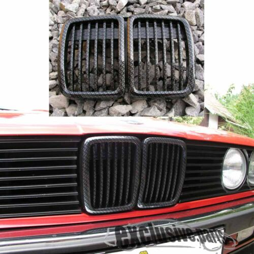 GRIGLIE CARBON SHADOW LOOK per BMW E30 3 Serie 84-90