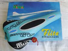 Selle Italia Flite Titanio Sella Blu - 1998-NUOVO! NOS! Nuovo con Scatola!