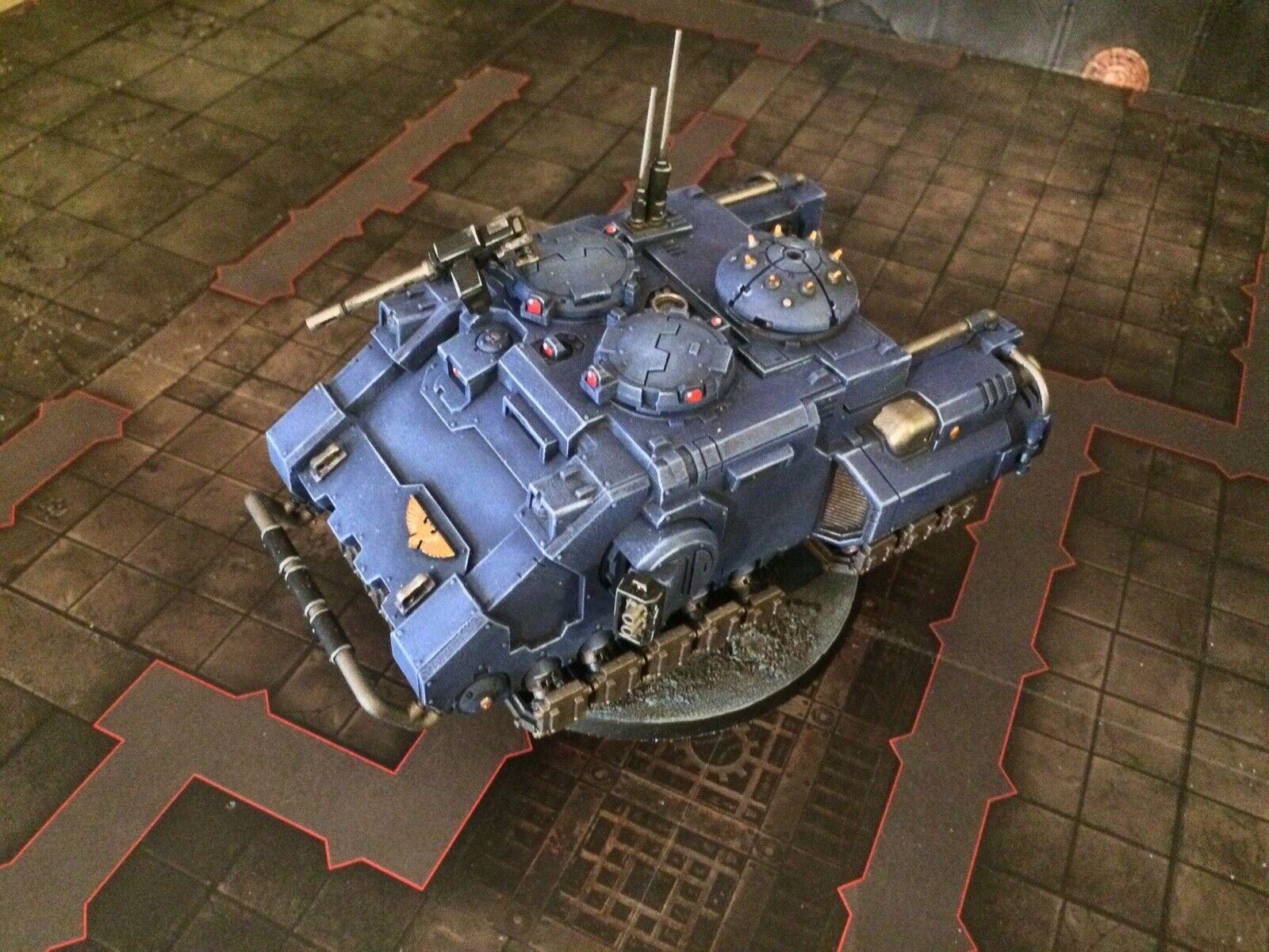 WHMS Obligatorisk målad Commission Warhammer 40k Astkonstes Primaris Space Marines
