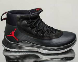 d259e2e058e Air Jordan Ultra Fly 2 Black Anthracite Wolf Grey Red 897998-002 US ...