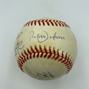 1992 Toronto Blue Jays World Series Champs Team Signed W.S. Baseball JSA COA