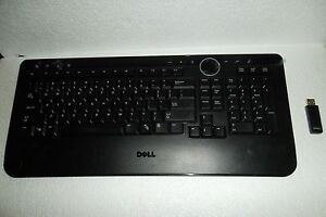 Dell y-rbp-del4 spanish latin black wireless keyboard m757c 820.