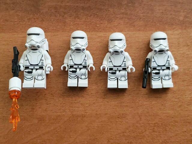 LEGO Star Wars Minifigure Lot First Order Snowtrooper x4 75100