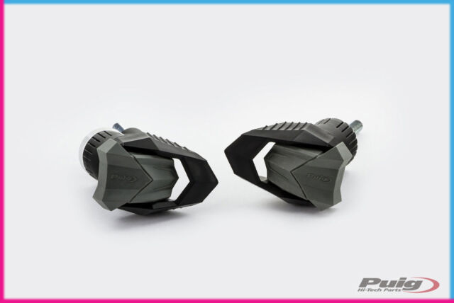 PUIG TAMPONI PARATELAIO MOD. R19 FOR YAMAHA MT-09 TRACER GT 18-20 NERO