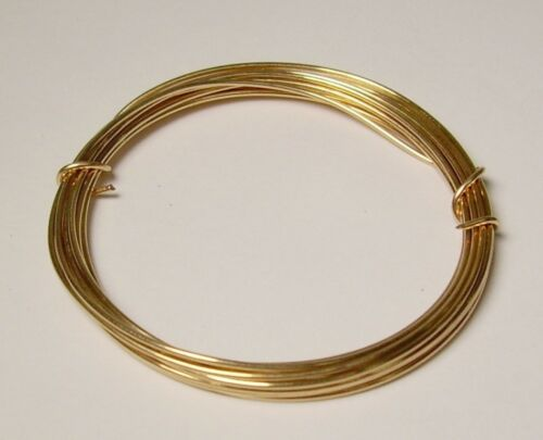 20 Ga Solid Bronze Soft Round Wire 2 Oz  44 Feet On  Coil Bronze wire