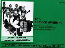 Diat diatoniche mano Harmonika voti: 10 x Slavko Avsenik oberkrainer lemi-MS