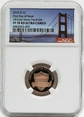 Portrait Label 2019 S Lincoln Cent Early Releases NGC PF70 RD Ultra Cameo