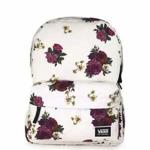 Details about VANS Realm Backpack Botanical Floral VN0A3UI7UWZ1 VANS Schoolbag