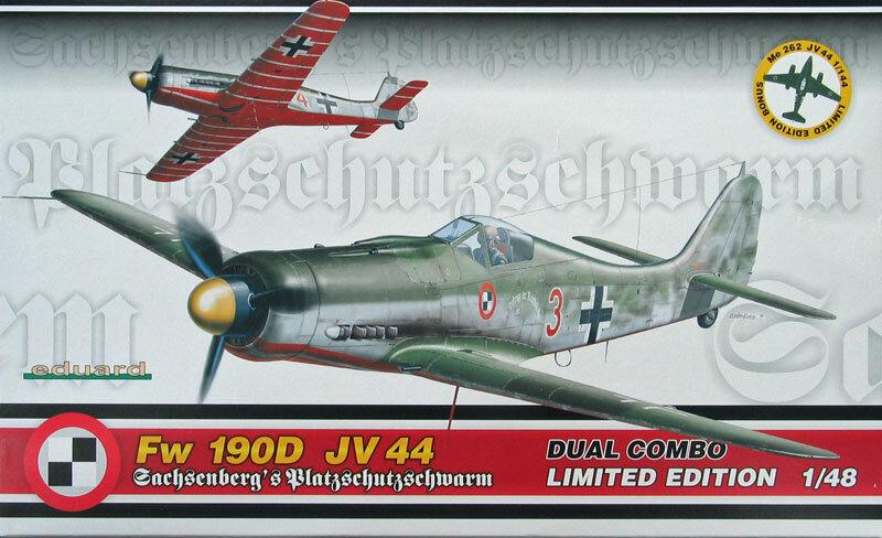EDUARD EDUARD EDUARD FW 190D  & JV 44 Dual Combo 1154 1 48 b59963