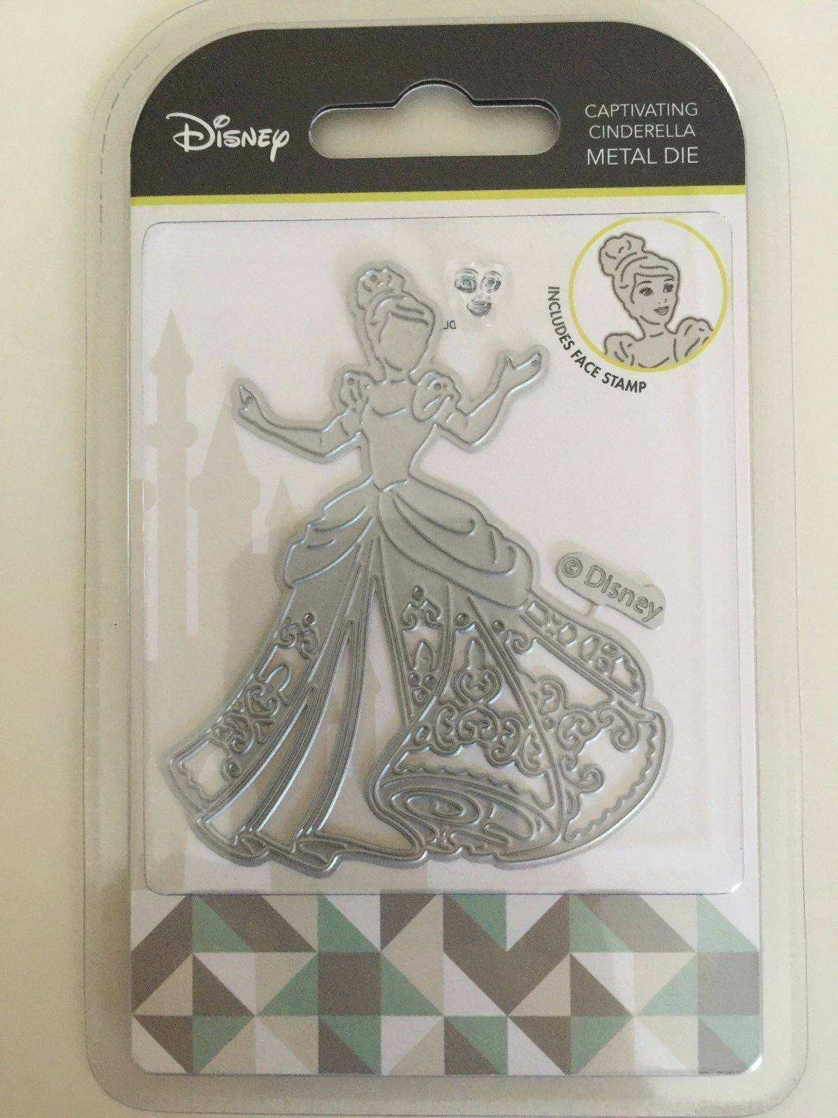 Captivating Cinderella Disney Princess metal die DUS0640 Character World dies