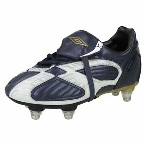 8b17064db Image is loading Boys-Umbro-Football-Boots-With-Studs-X-600-