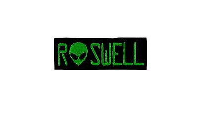 Patch backpack airsoft biker motorcycle alien roswell martian ufo ovni funny