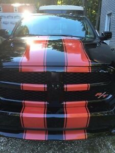 2 10 Hood Racing Rally Stripes Auto Graphic Decal Vinyl Car Truck