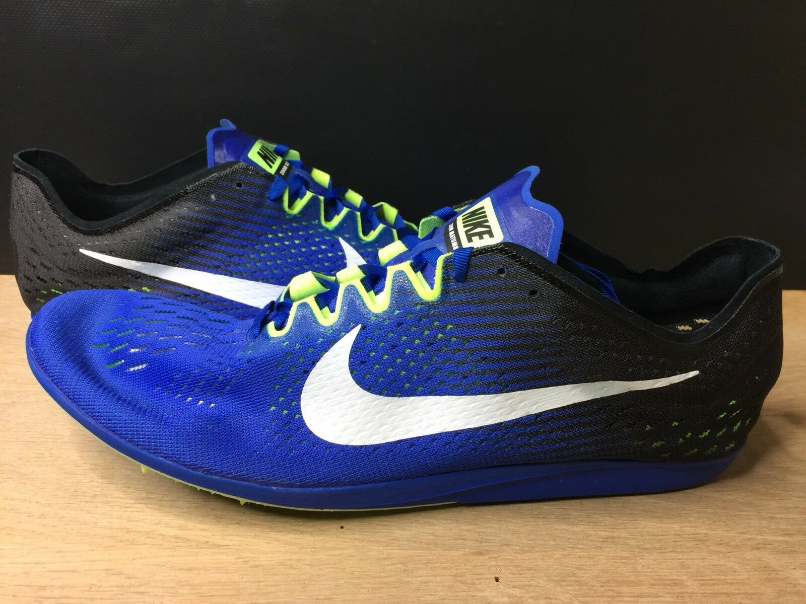 Nike Zoom Spikes Matumbo 3 Distance Track Spikes Zoom Blue 835995-413 Mens Size 15 750313