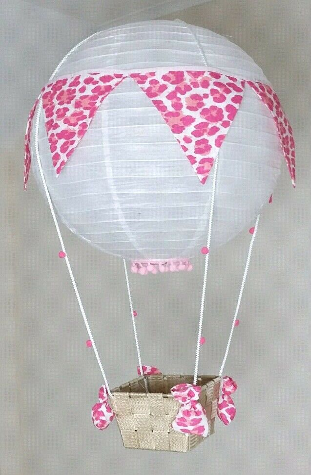 Ballon Lampe Deko Geschenk Kinderzimmer Geburt Hochzeit Lila