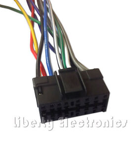 new wire harness for pioneer deh p41 deh p410 deh p4100 ebay