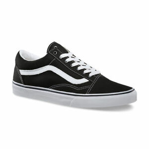 d9cb6674803 Vans Sneakers Old Skool Black True White Suede Kids Boy Girl Size 11 ...