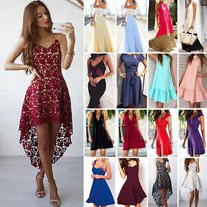 Women-039-s-Long-Maxi-Dress-Cocktail-Evening-Party-Prom-Wedding-Summer-Beach-Boho