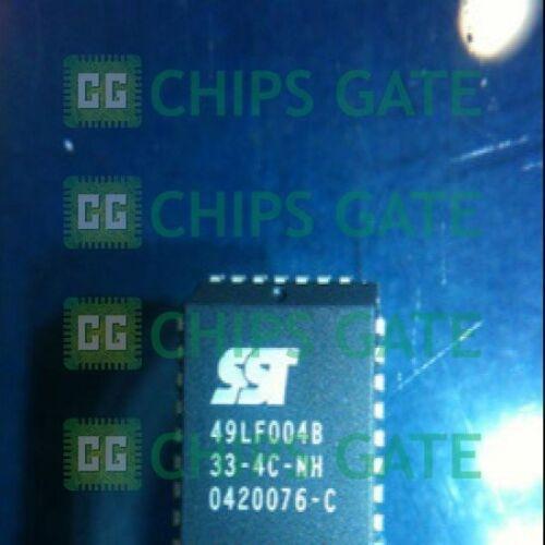 3PCS New 49LF004 SST 49LF004B-33-4C-NH SST49LF004B 33 4C 4Mbit 3.3 V PLCC Bios