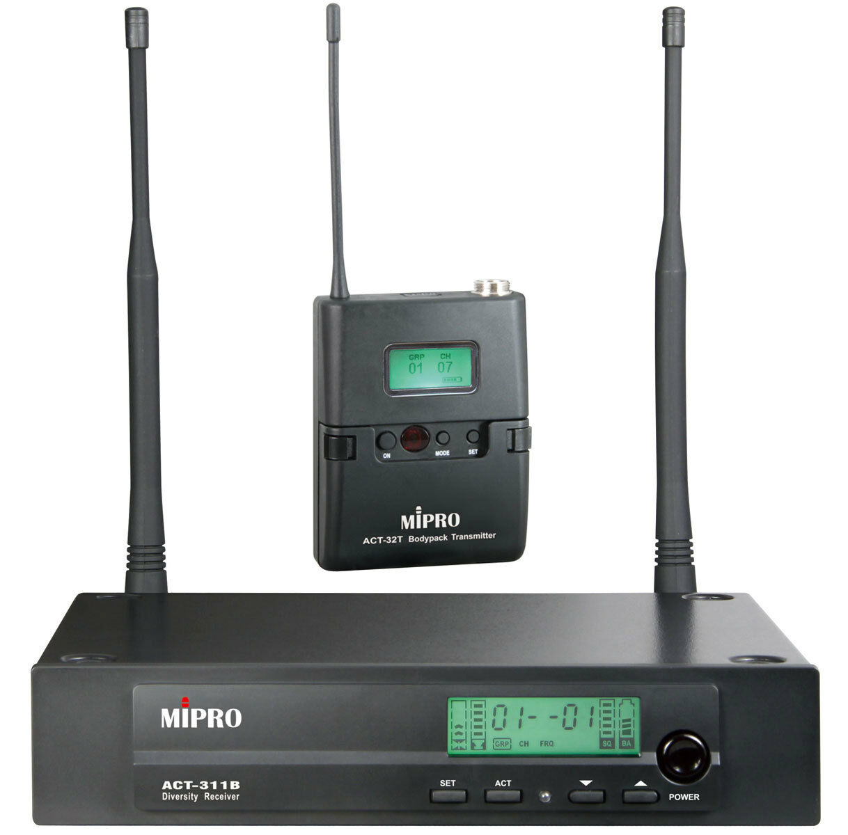 Mipro ACT 311 TB drahtloss Funksystem ACT 311B mit Taschensender ACT-32T