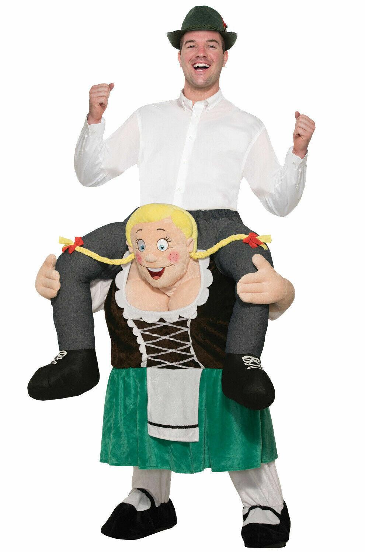 Beer Buddy Costume Carry Me Ride On Oktoberfest St Patricks Adult Mens Funny