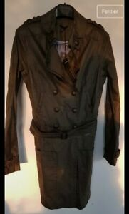 Trench Neuf tiquette Xs Ikks Avec Taille twcy4qtHFr