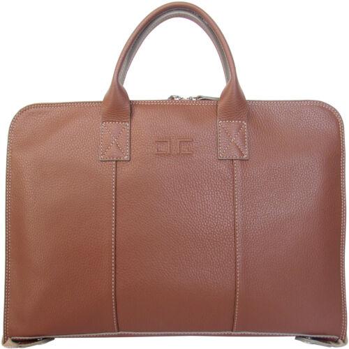 fabriqué Italie Altieri pour hommes cuir pour documents227 en en marron Gianni d'affaires de Sac RjqAL34c5